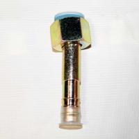 Фитинг соединительный, под обжимку, сталь, гайка — сталь, 5/8, G10, №10, #10 (13мм), 180°, без стакана, O-Ring.