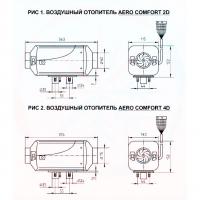 Воздушный отопитель Aero Comfort ST 2D 12V
