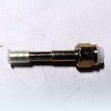 Фитинг соединительный, под обжимку, сталь, гайка - сталь, 3/8, G6, №6, #6 (8мм), 180°