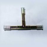Фитинг врезной «тройник» под обжим, сталь, 3/8, G6, №6, #6 ( 8мм), без стаканов.